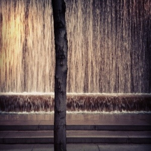 Michelle Aki Becker Photography Artist Waterfall Midtown New York City